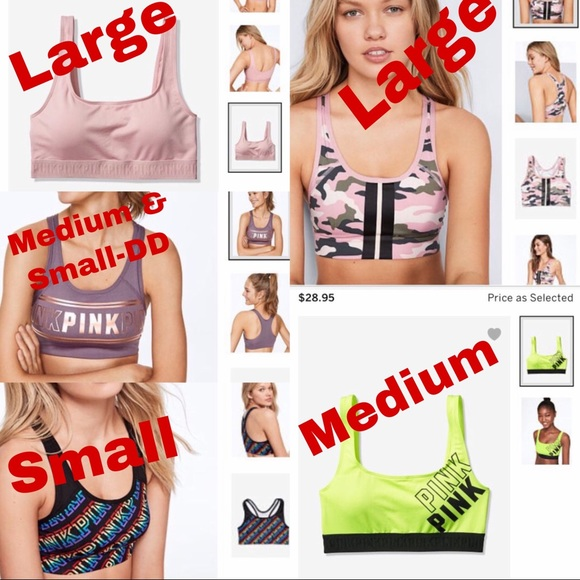 PINK Victoria's Secret Other - Victorias secret sports bras